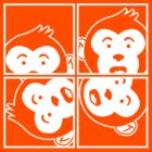 Surprised Monkey - Photo Booth by Arian-Arben
