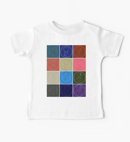 The Names of The Doctor Baby Tee
