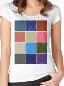 The Names of The Doctor Women's Fitted Scoop T-Shirt