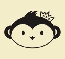 Kawaii Monkey with Crown by Arian-Arben