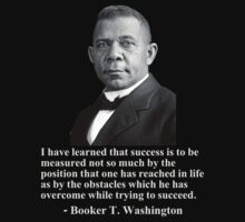 Booker T. Washington- Success by BlackMatters