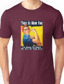 This Is How Far Unisex T-Shirt