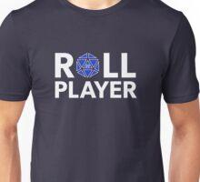 Roll Player Blue d20 Unisex T-Shirt