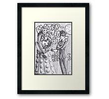 Bad Doctor - Good Doctor Framed Print