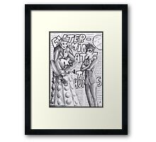 Bad Doctor - Good Doctor Framed Print
