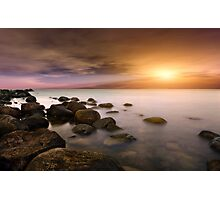 Baltic Sea - Sunset Photographic Print