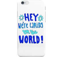 Unpredictable Lyric Drawing iPhone Case/Skin
