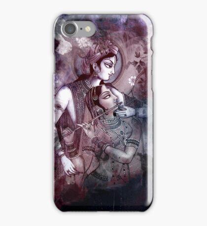 Radha Krishna- The Dreamscape iPhone Case/Skin