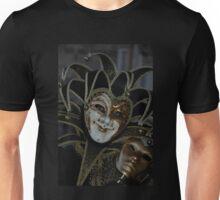 Black, white and smiling Unisex T-Shirt