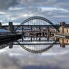 Bridges over the River Tyne by pixog