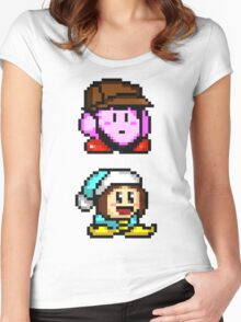 Grumpy Sprites Women's Fitted Scoop T-Shirt