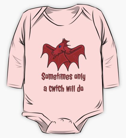 Dragons give the best Welsh Cwtch's wales t shirt One Piece - Long Sleeve