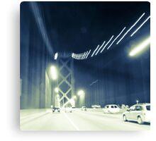 San Francisco - Bay Bridge Canvas Print