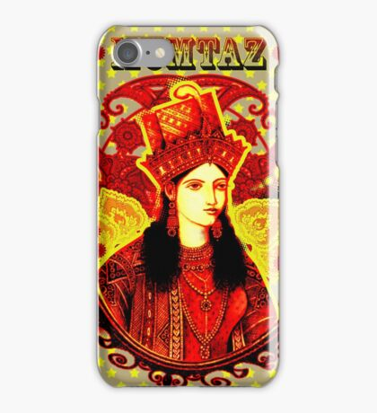 Mumtaz Mahal Pop Art iPhone Case/Skin
