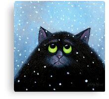 Snow Again Canvas Print