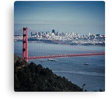 San Francisco - Golden Gate Canvas Print