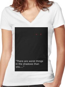 Theif Women's Fitted V-Neck T-Shirt