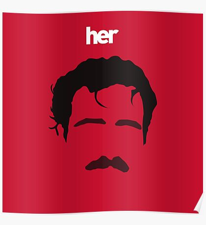 Her is Spike Jonze Poster