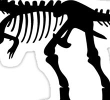 Tyrannosaurus T-Rex Skeleton Sticker