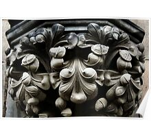 Carefully Carved Capital Poster