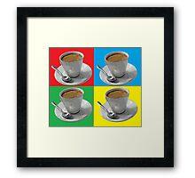 coffee squared Framed Print