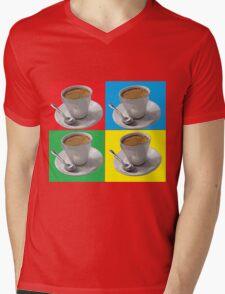 coffee squared Mens V-Neck T-Shirt