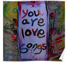 you are love songs Poster