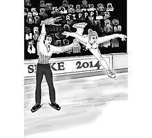 Olympics Accident 2 Photographic Print
