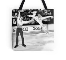 Olympics Accident 2 Tote Bag