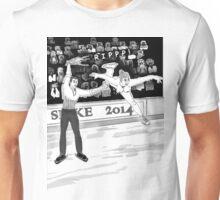Olympics Accident 2 Unisex T-Shirt