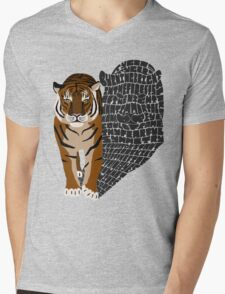 Tyger Mens V-Neck T-Shirt