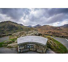 Snowdon Mountain Photographic Print