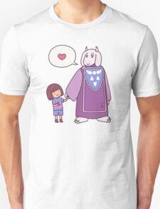 undertale toriel frisk cute kawaii T-Shirt