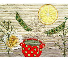 Under the lemon sun by Bozena Wojtaszek