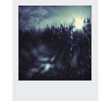 Pinhole - Dark Sun Photographic Print