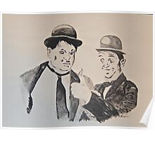 Laurel&Hardy Poster