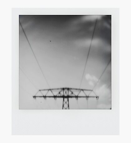 Pinhole - The Line Photographic Print