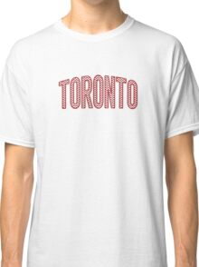 Toronto Red Chevron Classic T-Shirt