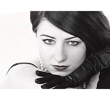 Sultry seductress Photographic Print
