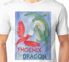 Phoenix and Dragon Unisex T-Shirt