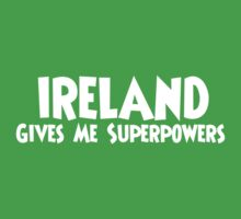 Ireland Superpowers Kids Tee