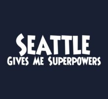 Seattle Superpowers One Piece - Short Sleeve