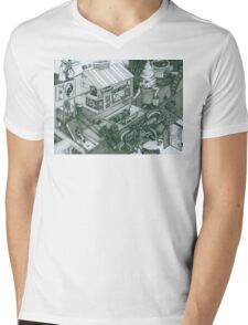 A Sundae In The Park With George Mens V-Neck T-Shirt