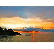 Raging Sunset Photographic Print