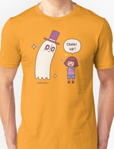 undertale frisk napstablook cute kawaii T-Shirt