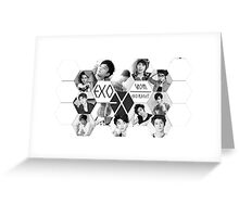 Exo Planet  Greeting Card