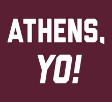 Athens, YO! by Location Tees