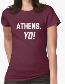Athens, YO! Womens Fitted T-Shirt