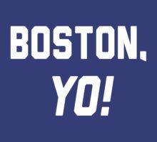 Boston, YO! by Location Tees