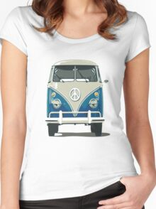 VW Split Screen Women's Fitted Scoop T-Shirt